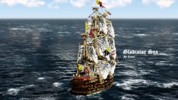 Gladiator Sea 1:1 - By Lucas - ShipSide Minecraft