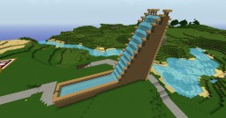 Miniature Water Slide - Ian's World Minecraft Map & Project