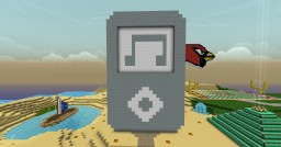 Giant iPod - Ian's World Minecraft Map & Project
