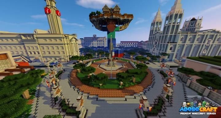 AdoboCraft Spawn City