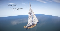 L'Hanna // Classic Sail Boat Minecraft Map & Project
