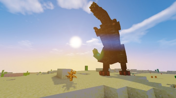 how to build monster hunter monsters in minecraft
