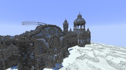 New project!! Ice-castle :3 Minecraft Map & Project