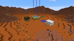Mars Base 1300 BC Minecraft Map & Project