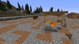 MineCraft primal (Prehistoric survival map) vanilla Minecraft