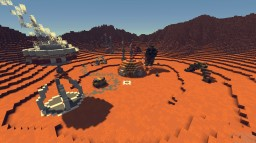 The Wyrm Attacks (Life On Mars PMC Competition) Minecraft Map & Project