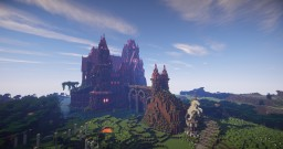 Pretty 'n Pink - A Princess Castle. Minecraft Project
