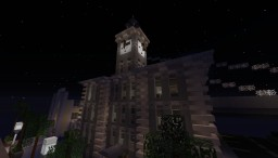 Greenfield - 20's Fancy Building with Clocktower Minecraft Map & Project
