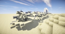 Star Wars - Jakku Planet Droid Point Minecraft Project