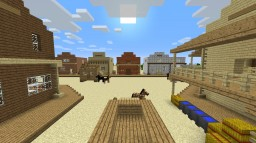 The Western Town of Tumbelweed Minecraft Map & Project