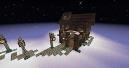 Winter home Minecraft Map & Project