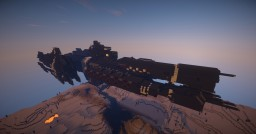 Halo UNSC Paris-class Heavy Frigate Minecraft Project