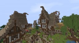 Medieval village by _VINATE_ [Akourn] Minecraft Map & Project