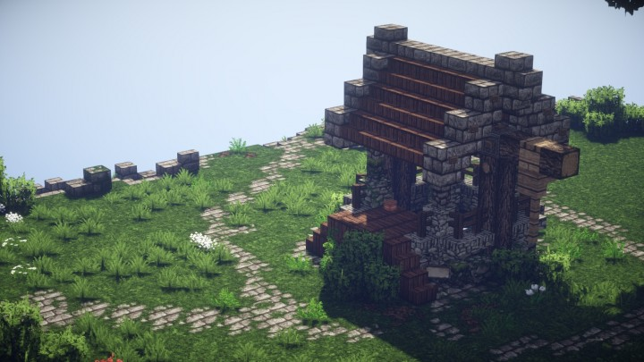 Medieval Well Minecraft Project