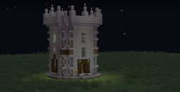 Detailed Castle build. Minecraft Map & Project