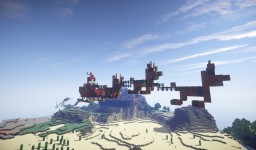 Cute Santa and reindeer! Minecraft Map & Project