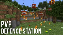 Redstone: Ultimate PVP Defence Station Minecraft Project