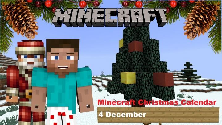 Christmas Calendar Minecraft : Minecraft christmas calendar december project
