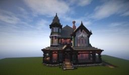 George F. Barber VIctorian Minecraft Project