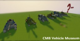CMB Vehicle Museum Minecraft Map & Project