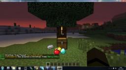 Christmas Trees Minecraft Mod