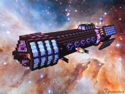 Hades-class Missile/Torpedo Frigate [Aliquam] Minecraft Map & Project
