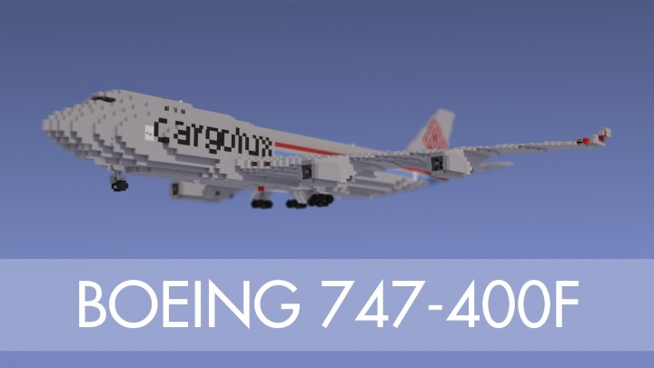 Boeing 747 400f Minecraft Project