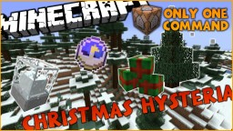 Christmas Hysteria in One Command l Get Presents from Santa! Minecraft Map & Project