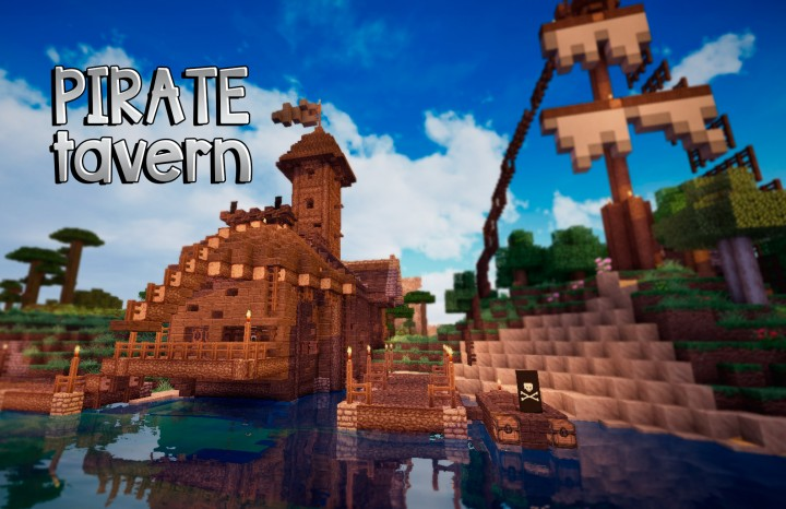 Pirate tavern Minecraf...