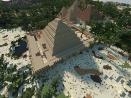 Magical Hwt-ka-ptah[Egypt]  (11500 BC- ancient Civilzations on Display) S01E05 Minecraft Map & Project