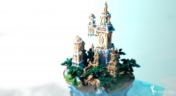 Cliffside Towers Minecraft Project