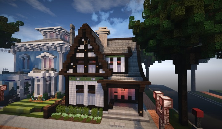 Peachy English Style Cottage Minecraft Project Download Free Architecture Designs Osuribritishbridgeorg