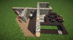 Minecraft Tutorial   Secret Passage - Geheimgang Minecraft Map & Project