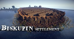 Biskupin - Fortified settlement in Poland Minecraft