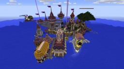Magus Purpura Purple Magical Kingdom Minecraft Map & Project