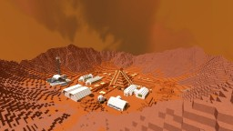 Martian Excavation Minecraft Map & Project