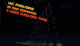 More Fireworks In One Command Minecraft Project