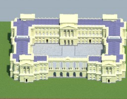 Baroque Palace - Inspirited by the Buckingham Palace Minecraft Project