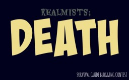 Realmists; death. Minecraft Blog Post