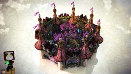 Colorfull / evil 8 portal Hub Minecraft Project