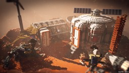 Human Life on Mars [Life On Mars Solo Build Contest] Minecraft Map & Project