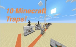 10 Minecraft Traps (10 Minecraft Traps 2 is out!) Minecraft Map & Project