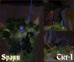 MMORPG Map Minecraft Map & Project