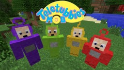 Teletubbies Mod [1.7/1.8/1.9/1.10/1.11/1.12] Minecraft