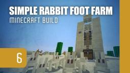 Simple Rabbit Foot Farm [1.9 ready] Minecraft Map & Project