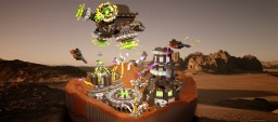 Battle of Twinkling Crater Minecraft
