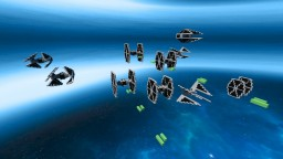 TIE Fighter Pack #1 STAR WARS Minecraft
