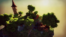 Tjalda Forest - little nature HUB [ V1 ] Minecraft Map & Project