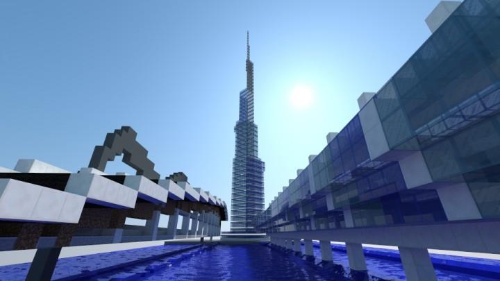 Burj Neomani - front view