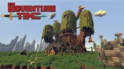 Adventure Time - The Tree House [Finn & Jake's Home] + DOWNLOAD Minecraft Map & Project